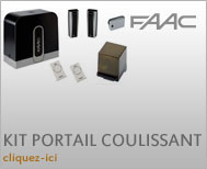 FAAC portail coulissant